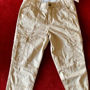 H&M Cargo Pants Flat Front cinched leg Never Worn